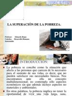 Superacion de La Pobreza