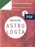 Aprenda Astrologia Volumen 4- Marion d March y Joan Mcevers