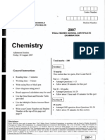 Chemistry Trial Css A
