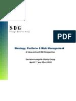 Strategy, Portfolio & Risk Mgmt