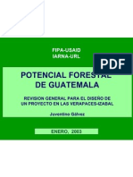 (2) Potencial-forestal-Guatemala- presentacion