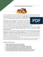 Import an CIA de Las Frutas y Hortalizas Como Alimentos
