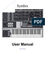 Synthix User Manual