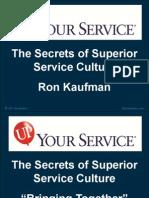 Ron Kaufman Up Your Service Light