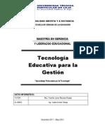 Aprendizaje Potenciado Por La Tecnologia