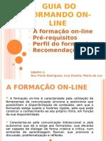 Guia Do Formando on-line