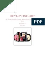 S.M Case (Revlon)