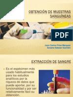 Obtencion de muestras