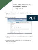 Guía pra hacer una página web