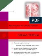 Mecanismos de coesão textual