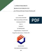 Laporan Pelayanan & Perawatan Kel 9