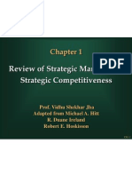 Ch01 Review of Strategic Management