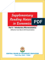 Supplementary Reading Material in Economics for Class XII 2010