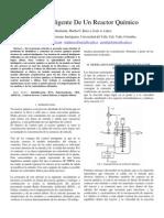 Control Inteligente de Un Reactor Quimico