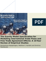 IEB_GRP4_The Gravity Model Specification for Modeling International Trade Flows