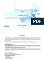 China Petroleum Extraction Equipment Mfg. Industry Profile Cic3612