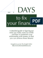 31 Days to Fix Your Finances