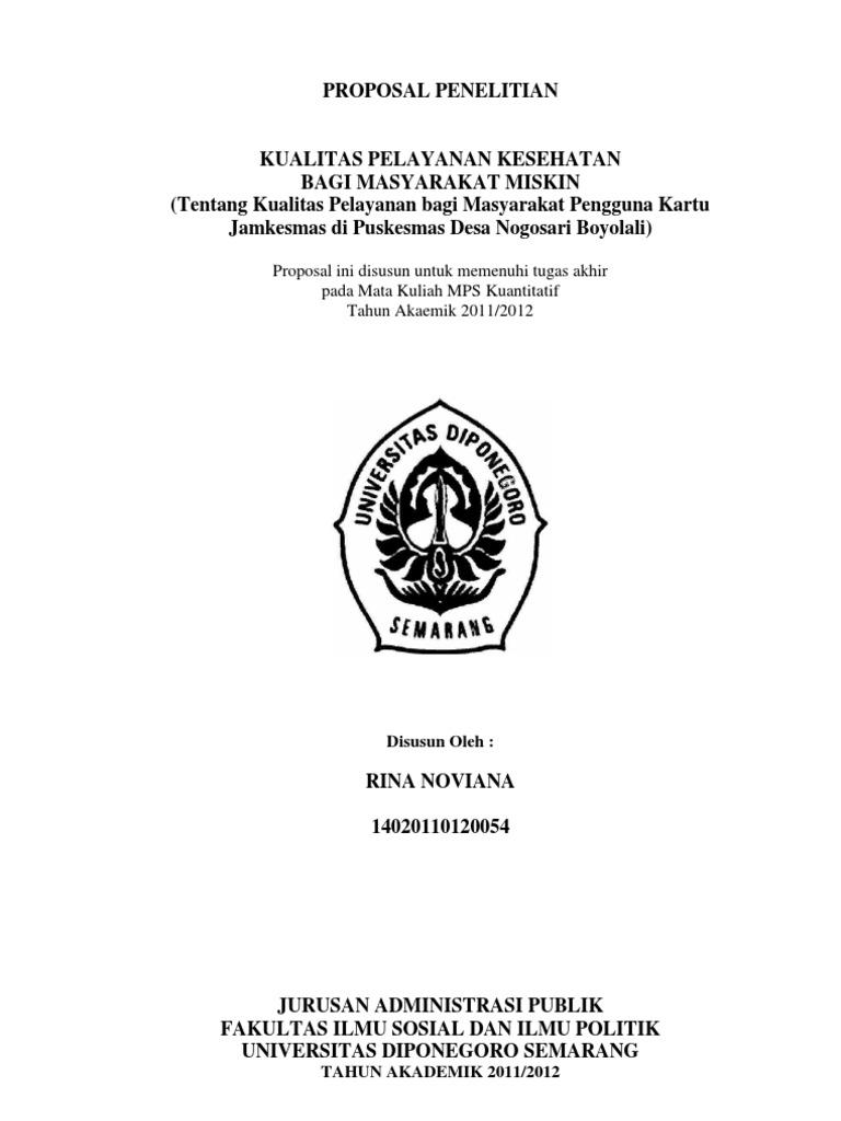 Skripsi Kualitatif Ilmu Administrasi Negara