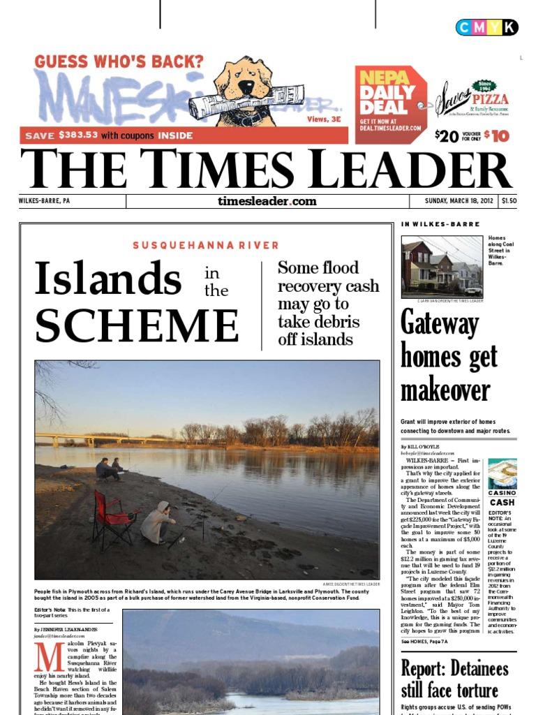 Times leader 03 18 2012 fandeluxe Gallery