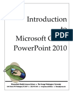 0. Intro Power Point 2010
