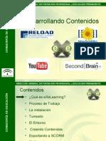 Diapositivas Curso eXe Learning - Desarrolladores de Contenidos