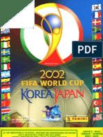 Album Cromos Panini - Mundial Futbol 2002 Corea Japon