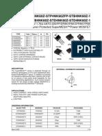 4NK60ZFP Datasheet