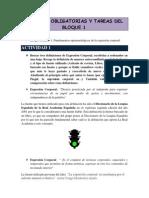 Lecturas Obligatorias y Tareas Del Bloque 1