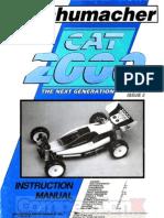 Schumacher Cat 2000 Manual