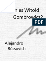 Russovich A. - Quien Es Witold Gombrowicz