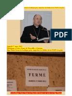 Mgr Alain Planet Nouveau Scandale Cathophobe