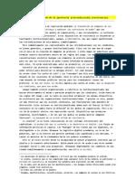 La institucionalización de la (protesta) (reivindicación) (resistencia).