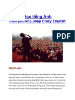 CRAZY ENGLISH - PHƯƠNG PHÁP HỌC TIẾNG ANH HIỆU QUẢ