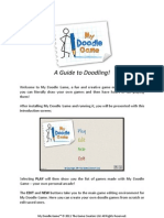 My Doodle Game User Guide