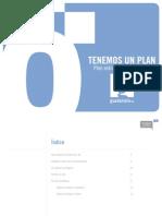 TENEMOS UN PLAN - PLAN ESTRATÉGICO GUADALINFO 2009-2012