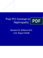 9.9.08 Williams. Contrast-Induced Nephropathy