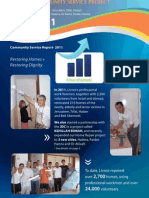Community Service Project 2011