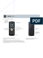 Manual Celular Motorola Motofone F3 - Portugues