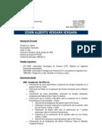 CV Edwin Vergara