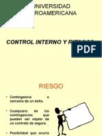 Control Interno y Riesgos
