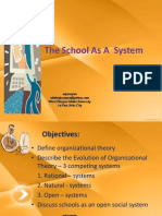 The School as a System