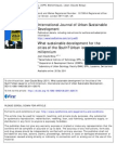 Sustainable Development Cities of the South