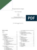 FH München - Energietechnische Anlagen Thermodynamik