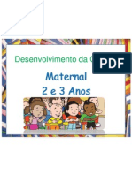 Desenvolvimento da Criança 2 e 3 anos