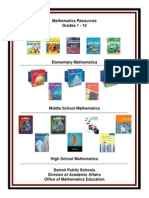 Mathematics Resources 3-2-12