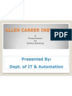 Allen Online Banking