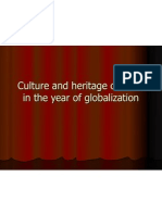 Culture and Heritage of India in the Year