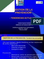 (B) Gestion de La Prevencion - Tendencias Actuales (OHSAS 18000)(1)