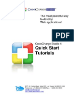 CodeCharge Studio4 Quick Start Tutorials