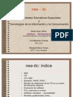 Necesidades Educativas Especiales Tics